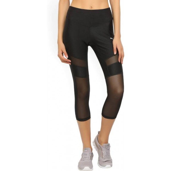 Puma Striped Women's Black Tights