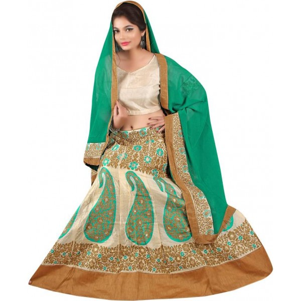 Divastri Embroidered Lehenga Choli  (Multicolor)
