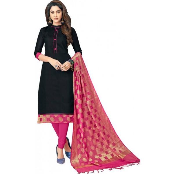 Viva N Diva Cotton Woven Salwar Suit Dupatta Material  (Un-stitched)