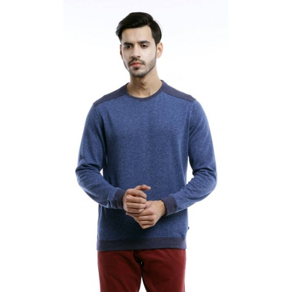 Peter England Full Sleeve Solid Men's Sweatshirt