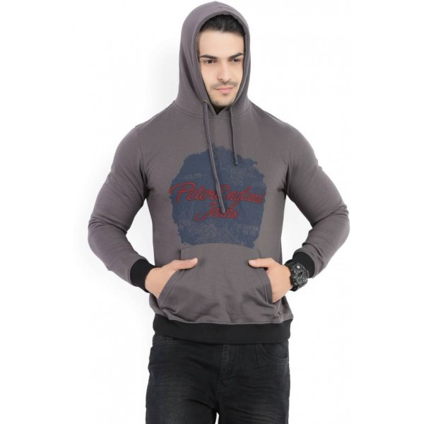 Peter England Full Sleeve Printed Men's Sweatshirt