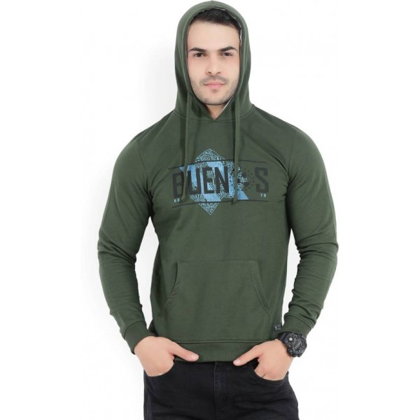 Peter England Full Sleeve Printed Men's Sweatshirt
