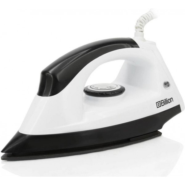 Billion 1100 W Non-stick Extra-power XR126 Dry Iron  (White and Black)