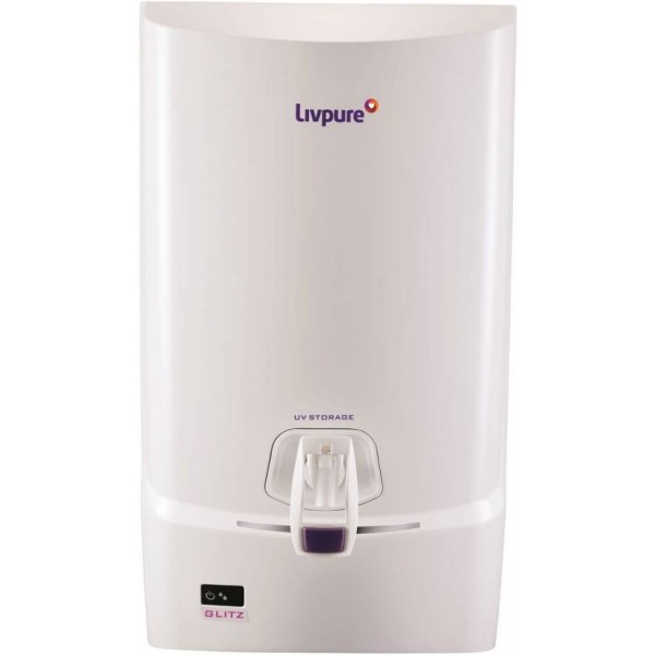 Livpure Glitz 7 L UV + UF Water Purifier  (White)