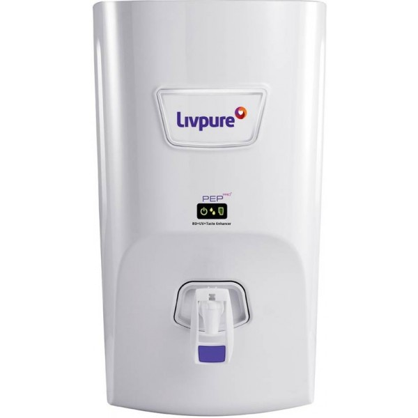 Livpure Pep Pro Plus 7 L RO + UV Water Purifier  (White)