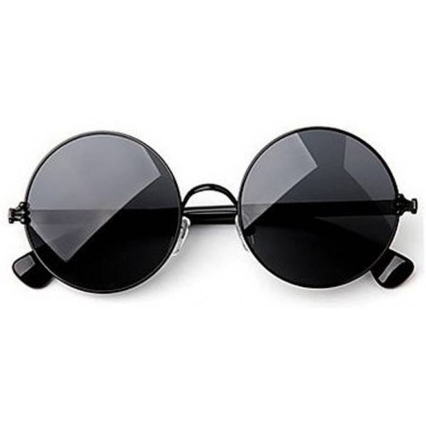 Phenomenal Round Sunglasses  (Black, Blue, Silver)