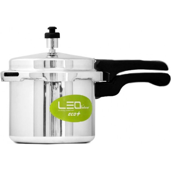 Leo Natura Eco Select+ 3 L Pressure Cooker with Induction Bottom  (Aluminium)