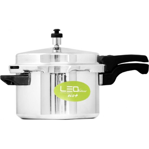 Leo Natura Eco Select+ 5 L Pressure Cooker with Induction Bottom  (Aluminium)
