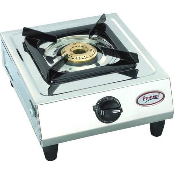 Prestige Prithvi Stainless Steel Manual Gas Stove  (1 Burners)
