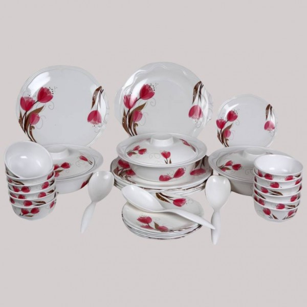 Eagleware Tulip Melamine Pack of 40 Dinner Set  (Melamine)