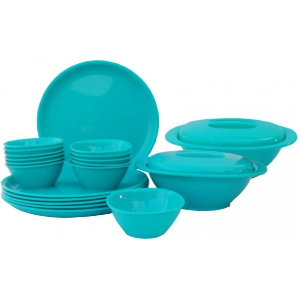 Incrizma Pack of 22 Dinner Set  (Polypropylene)