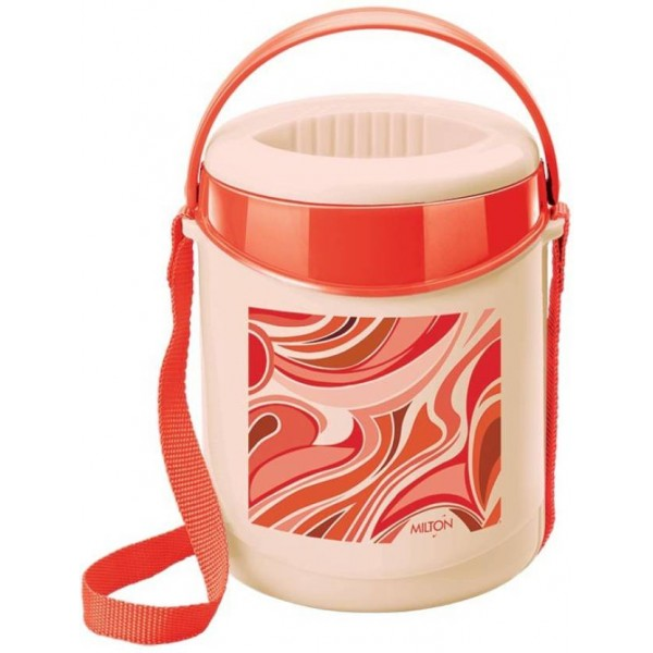 Milton Econa- Dark Red 3 Containers Lunch Box