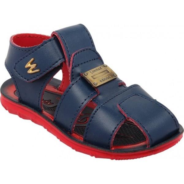 WINDY Boys & Girls Velcro Flats  (Blue)
