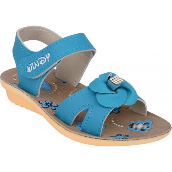 WINDY Girls Velcro Flats