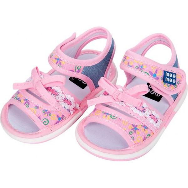 MeeMee Girls Slip-on Flats  (Pink)