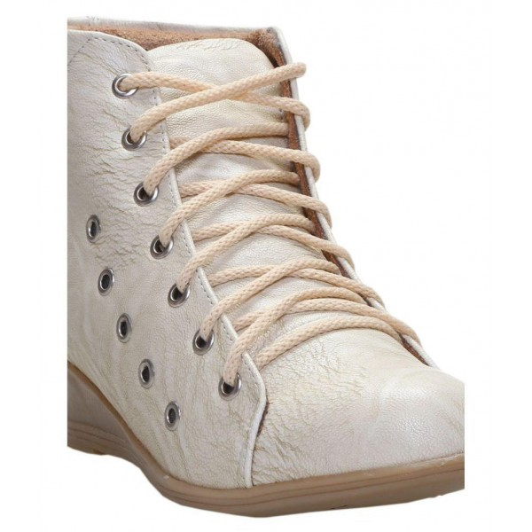 Catbird White Ankle Length Bootie Boots