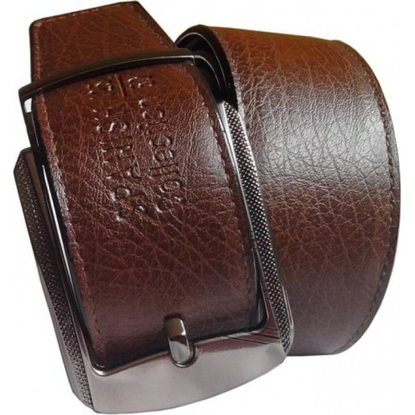 Wholesome Deal Men Formal Brown Synthetic Belt