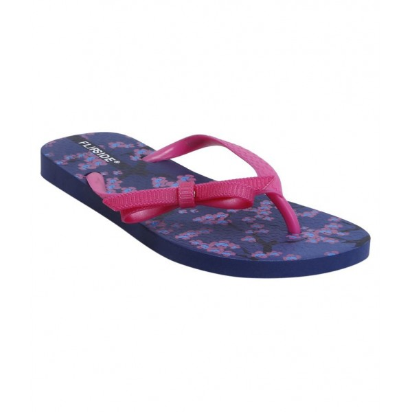 Flipside Womens Anne Purple Slippers
