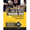 SBI & IBPS Bank PO Solved Papers - 40 papers (2010-2017) 3rd Edition Third Edition  (English, Paperback, Disha Experts)