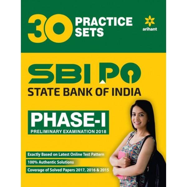 SBI PO Phase 1 Practice Sets Preliminary Exam 2018  (English, Paperback, Arihant Experts)