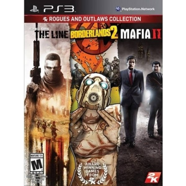 2K Rogues and Outlaws Collection - Spec Ops : The Line / Borderlands 2 / Mafia II  (for PS3)