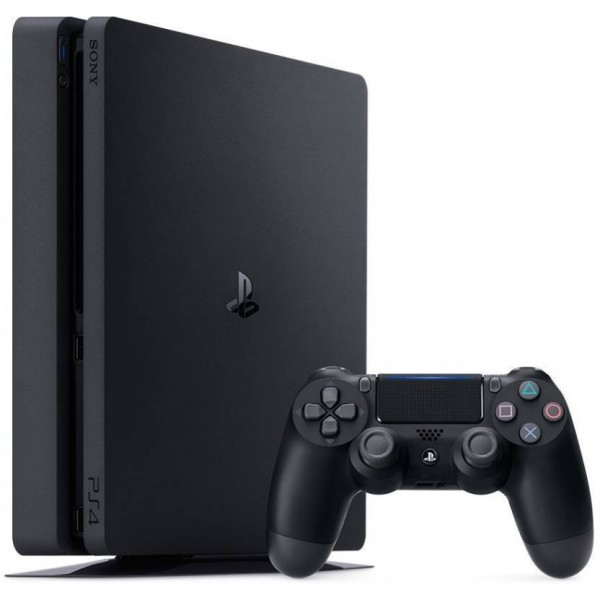Sony PlayStation4 Slim New 1 TB 1000 GB with No  (Black)