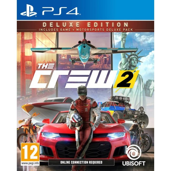The Crew 2 (Deluxe Edition)  (for PS4)