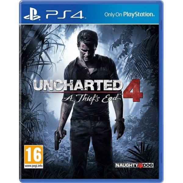 Uncharted 4 : A Thief's End  (for PS4)