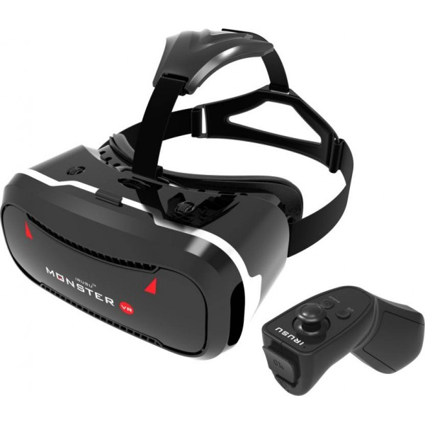 Irusu MONSTERVR VR headset with free remote controller  (Smart Glasses)