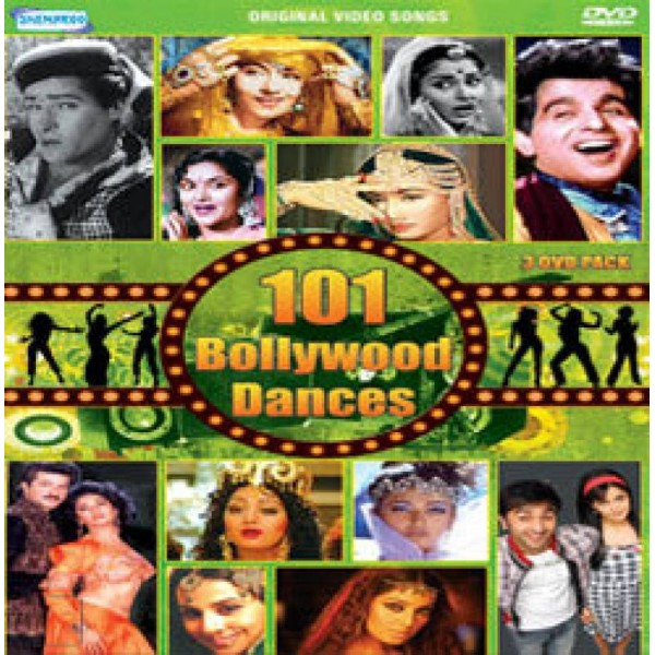 101 Bollywood Dances  (Music, DVD)