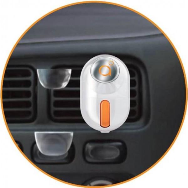 Godrej aer Bright Tangy Delight Car Freshener  (10 g)
