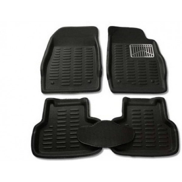 Auto Garh Plastic 3D Mat For Maruti Suzuki Swift Dzire  (Black)