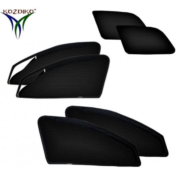 Kozdiko Side Window, Rear Window Sun Shade For Toyota Innova Crysta  (Black)