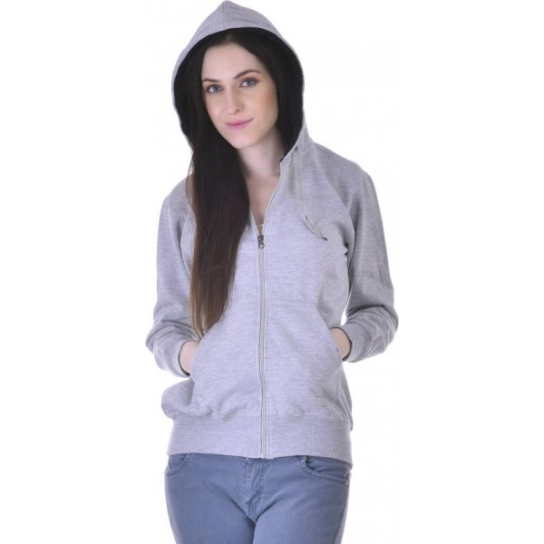 Christy World Full Sleeve Solid Women's Sports Jacket