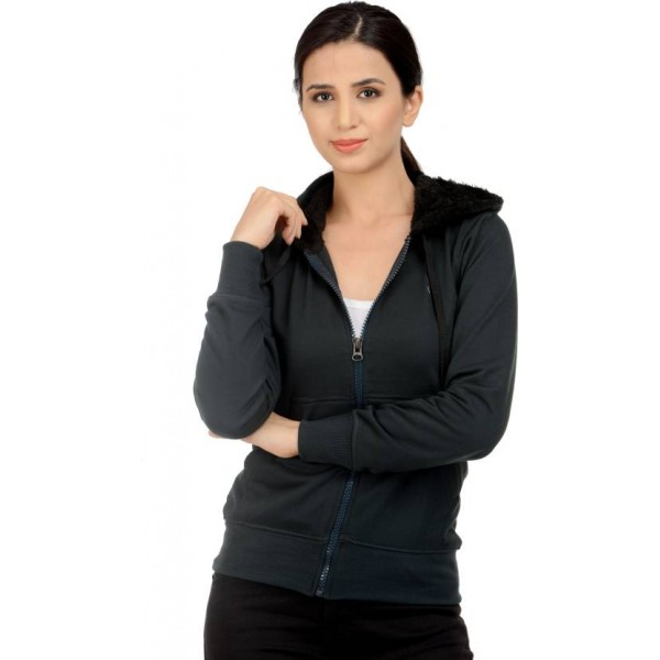 Christy World Full Sleeve Solid Women's Jacket