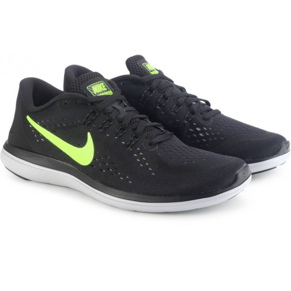 Nike FLEX 2017 RN Running Shoes For Men  (Black)