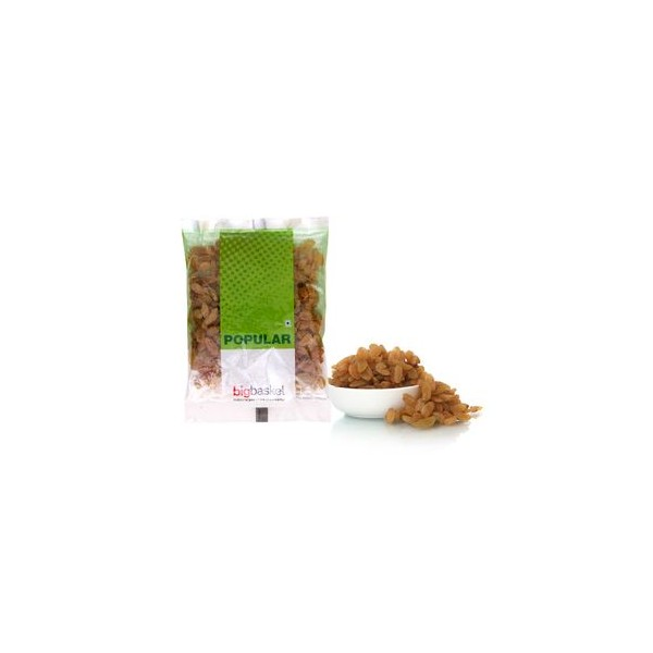 bb Popular Raisins/Kishmish - Indian, 100 gm Pouch