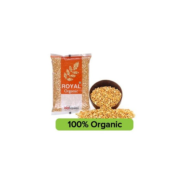 bb Royal Organic - Chana Dal/Channa, 500 gm