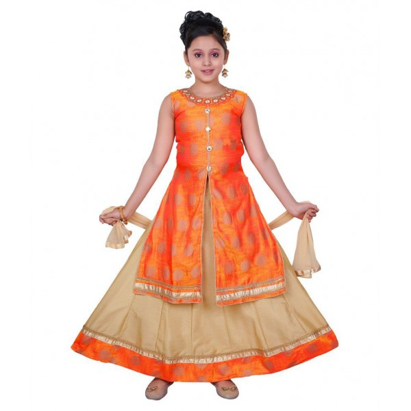 Saarah Multicolored Lehenga Choli Set