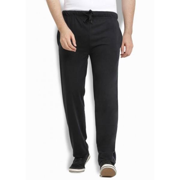 Billion Perfect Fit Solid Men Black Track Pants