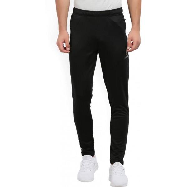 FIFA Solid Men's Black Track Pants