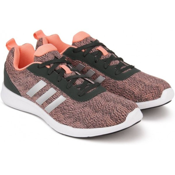 ADIDAS ADIRAY 1.0 W Running Shoes For Women  (Black, Pink)
