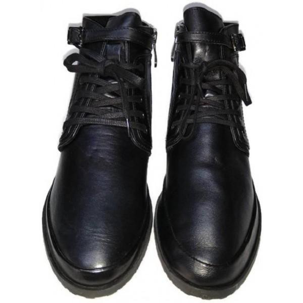 Kuja Paris Boots For Women  (Black)