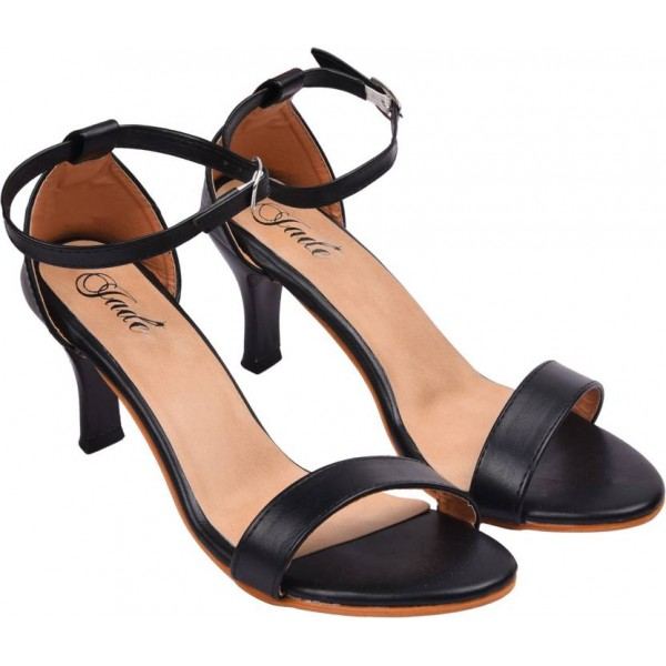 Jade Women Black Heels
