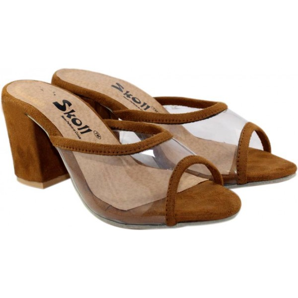 SKOLL Women Brown Heels