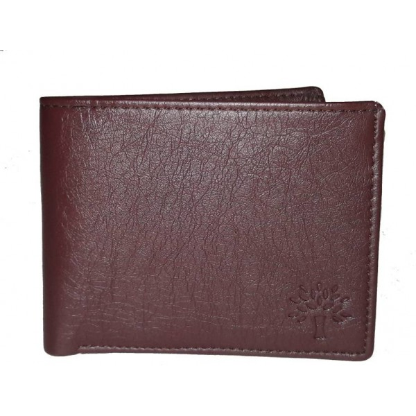 E MALL Men Brown Artificial Leather Wallet  (9 Card Slots)